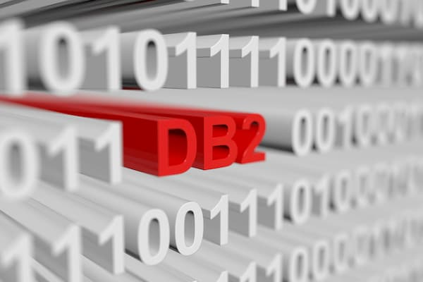 DB2 in binary mode